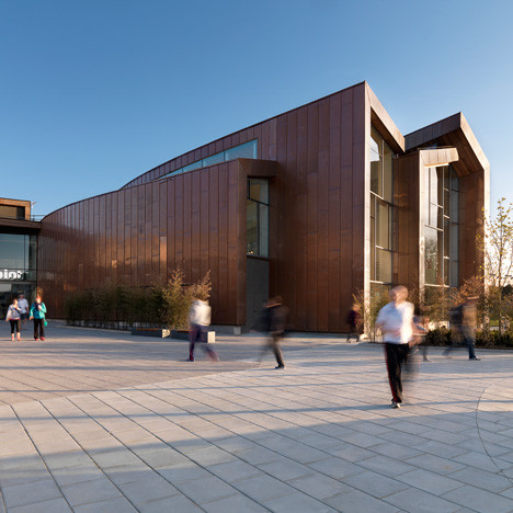 Sport winner: Splashpoint Leisure Centre, UK by Wilkinson Eyre Architects