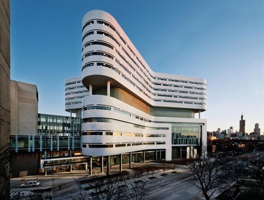 Health winner: Rush University Medical Center New Hospital Tower, USA by Perkins+Will