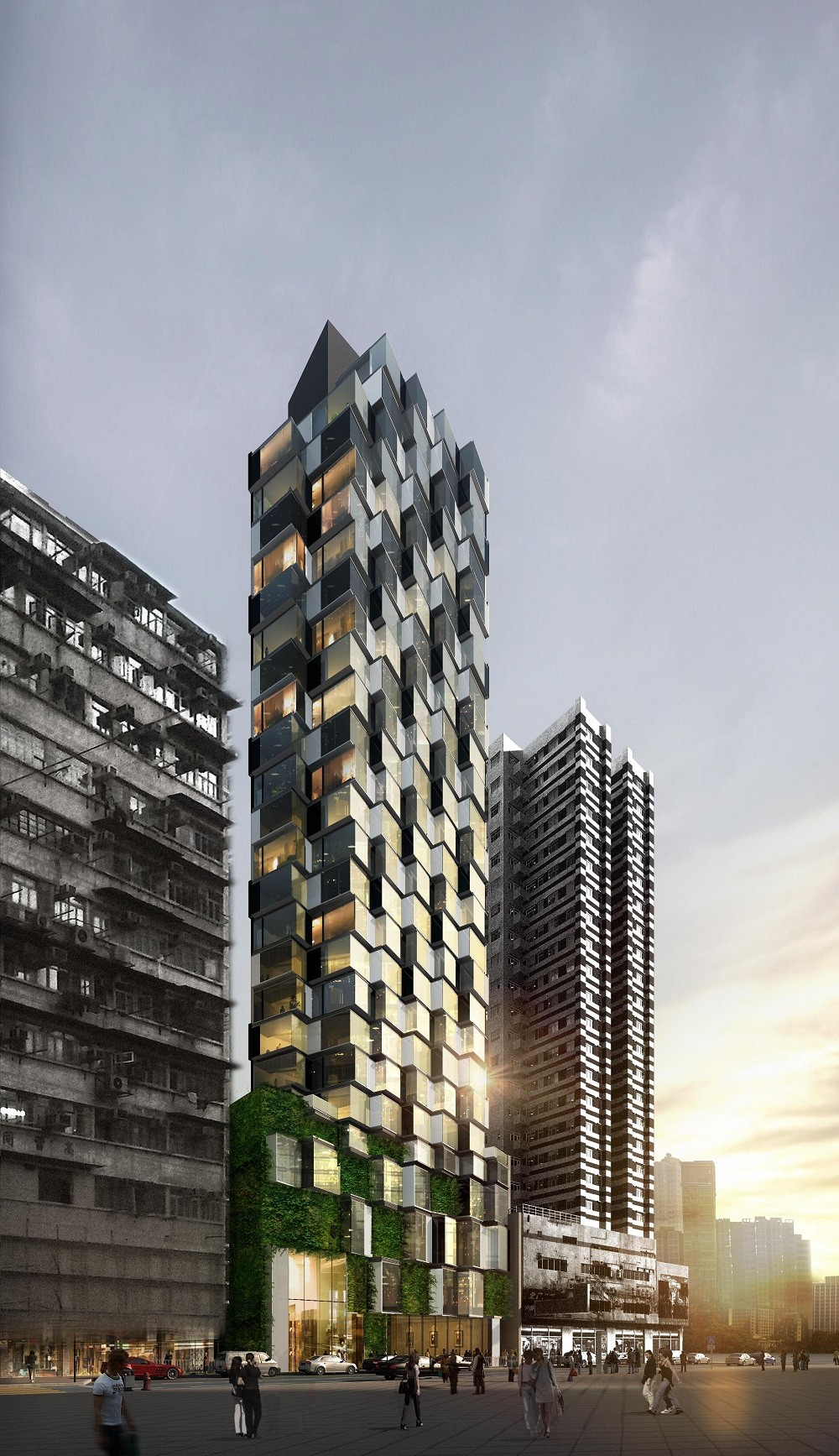 Composite House Construction : Gallery of composite building aedas