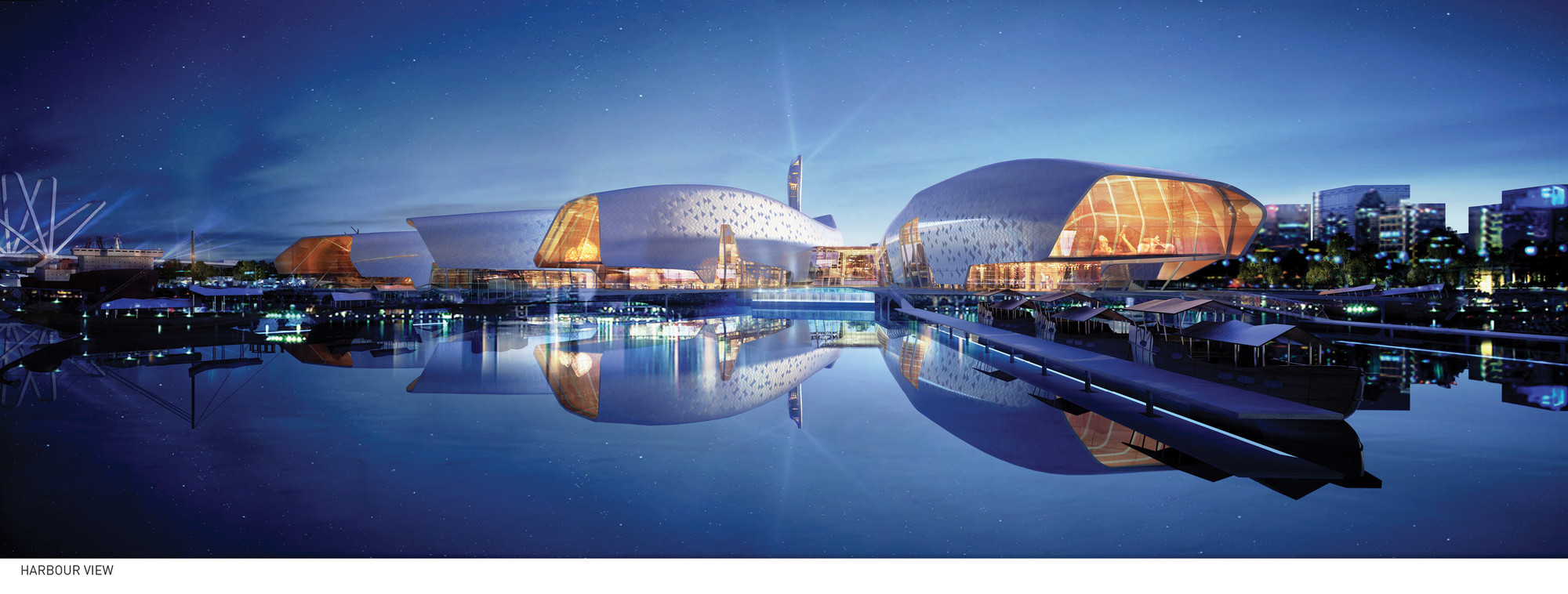 National Maritime Museum, China by Cox Rayner Architects