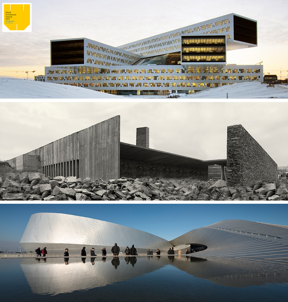 Ganadores del World Architecture Festival 2013