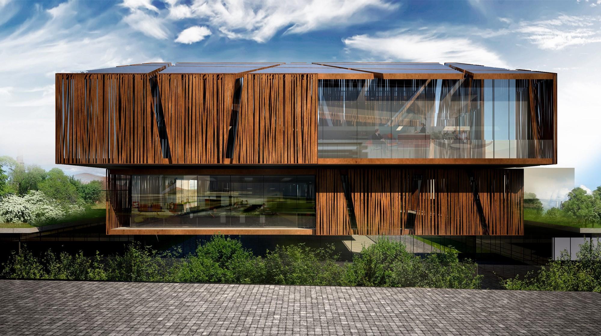 Future projects office winner: Selcuk Ecza Headquarters, Turkey by tabbanlioglu architects