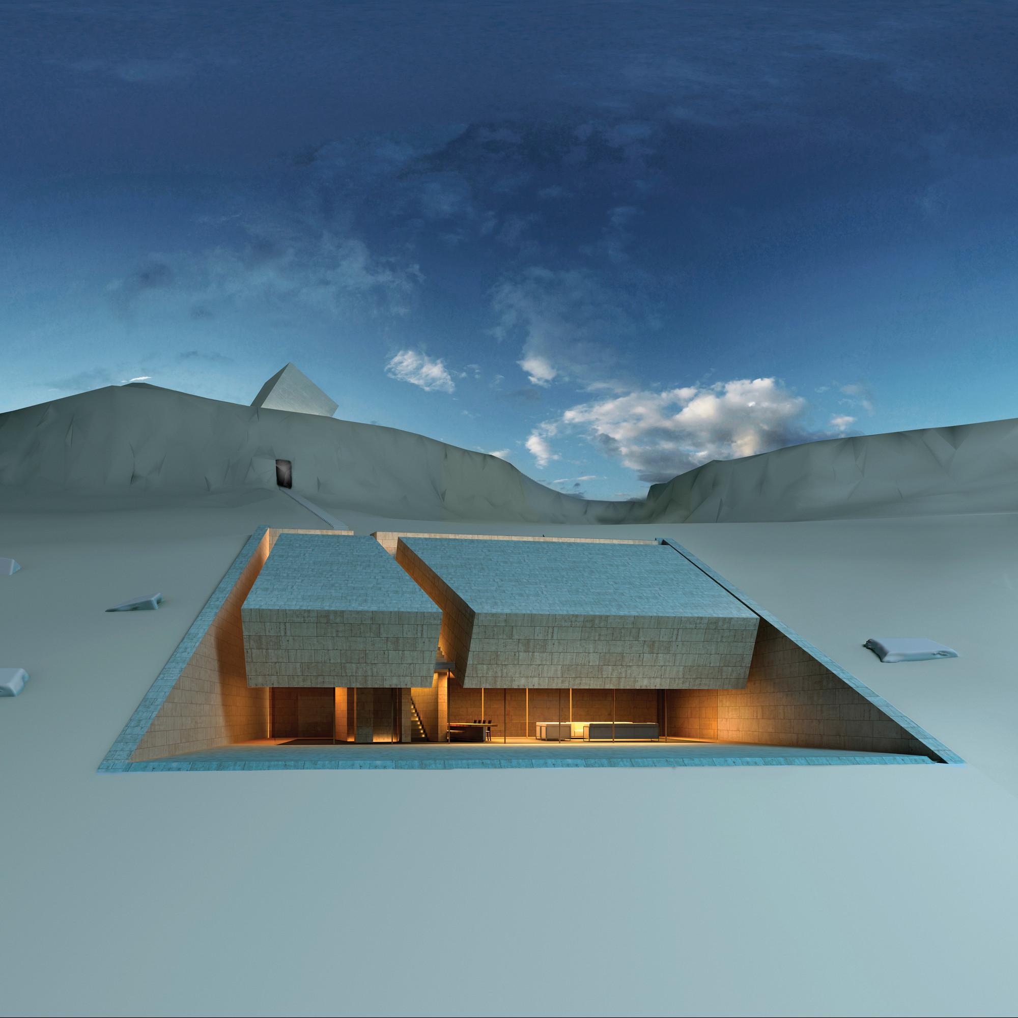 Future projects house winner: Meditation House, Lebanon by MZ Architects
