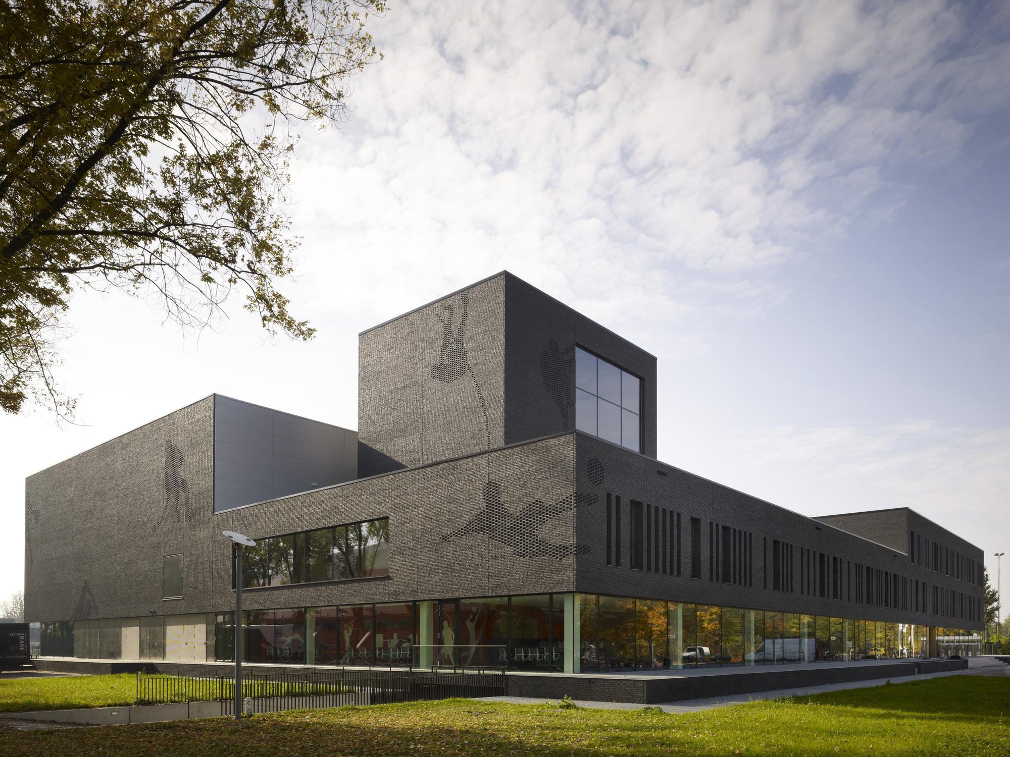 Schools winner: Fontys Sports College, Netherlands by Mecanoo International