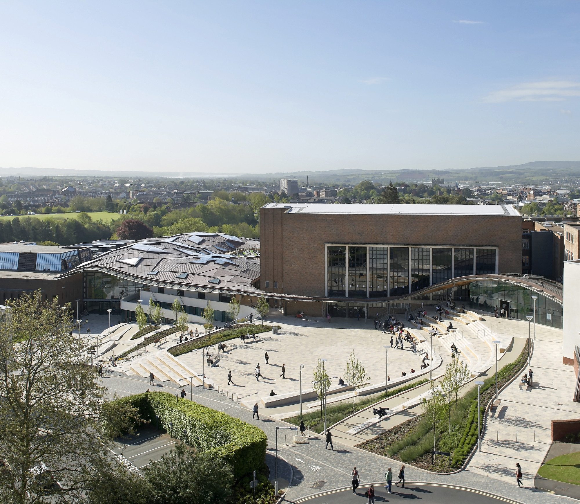 Higher education/research winner: University of Exeter: Forum Project, UK by Wilkinson Eyre Architects © Hufton + Crow