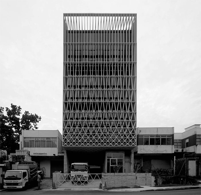 Production/energy/recycling winner: A Simple Factory Building, Singapore by Pencil Office