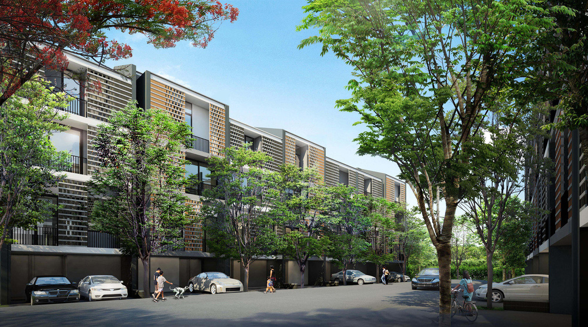 Future projects residential winner: Siamese Blossom , Thailand by Somdoon Architects