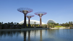 """Cooled Conservatories, Gardens by the Bay"" Wins the 2013 RIBA Lubetkin Prize"