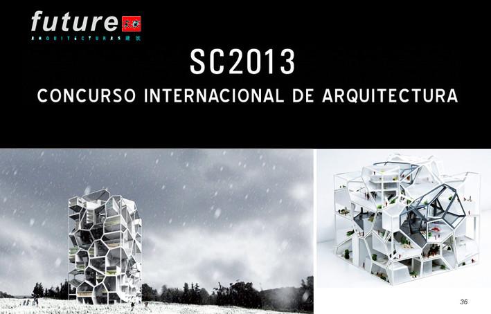 Convocatoria Concurso para estudiantes y jóvenes arquitectos SC2013 , Primer Premio SC2012