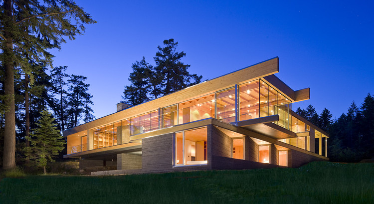 Casa en Gulf Islands / RUFproject, © Ivan Hunter