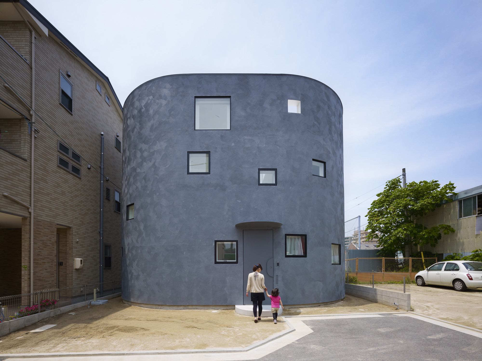 Light Stage House / Future Studio, © Toshiyuki Yano