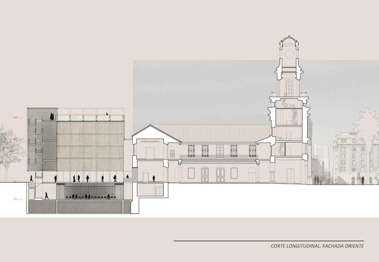 Primeiro lugar no concurso para o anexo do museu hist rico for Arquitectura nota de corte