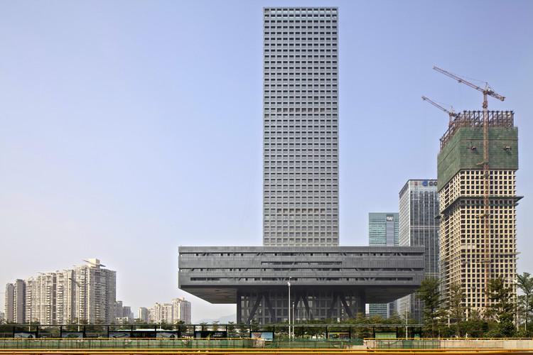 Oficinas Shenzhen Stock Exchange / OMA, © Philippe Ruault