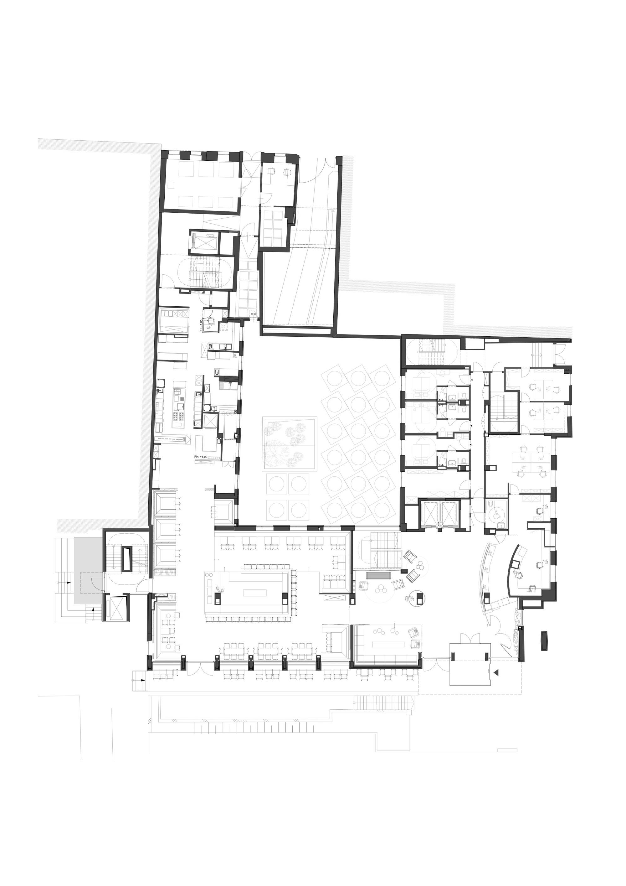 gallery of 25hours hotel vienna bwm architekten 21 25hours hotel vienna floor plan