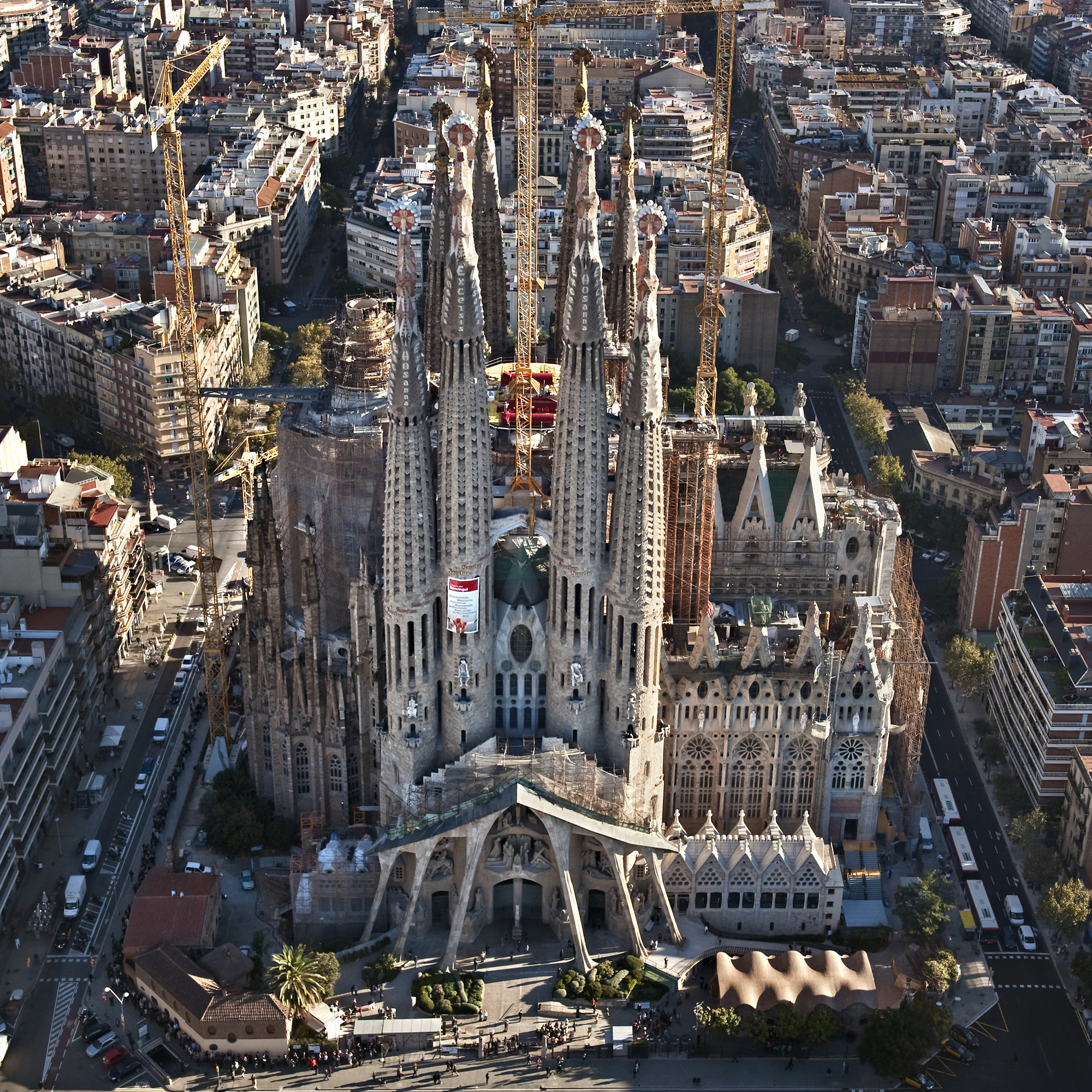 Gallery of ad classics la sagrada familia antoni gaudi 2 for La sagrada familia barcelona spain