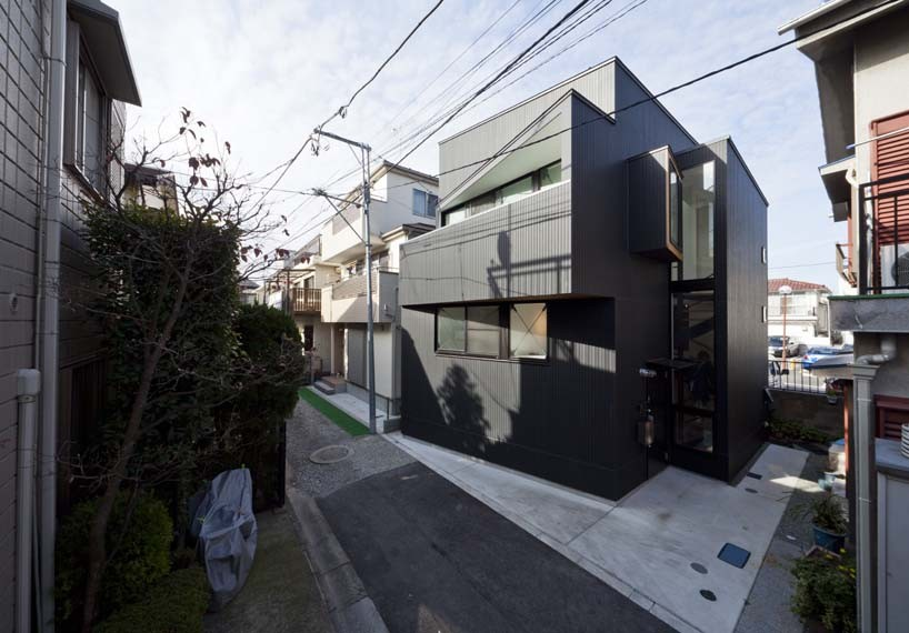 House in Shimomaruko / atelier HAKO architects, Courtesy of atelier HAKO architects