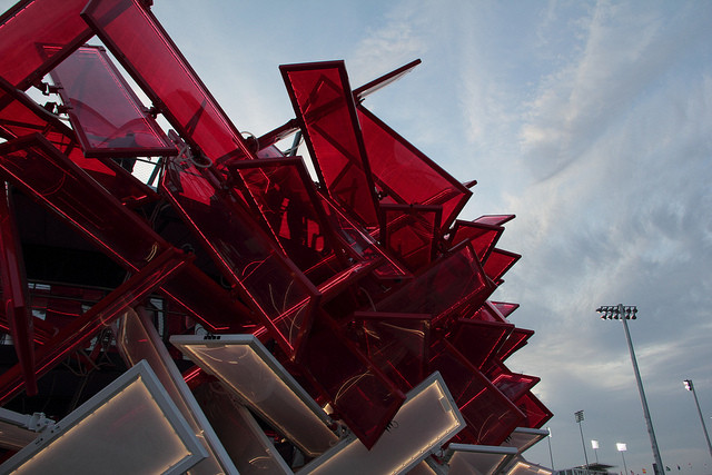 The 10 Best Emerging Designers Right Now, Pernilla Ohrstedt worked on Coca-Cola's 'Beat Box' Pavilion at the London 2012 Olympics. Image via Flickr CC. Image © Roger Meyer