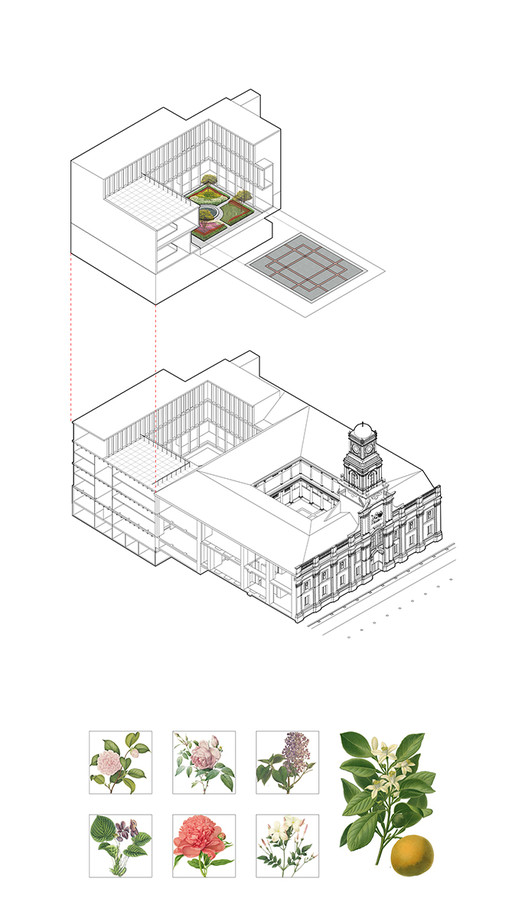 Axonométrica Proyecto