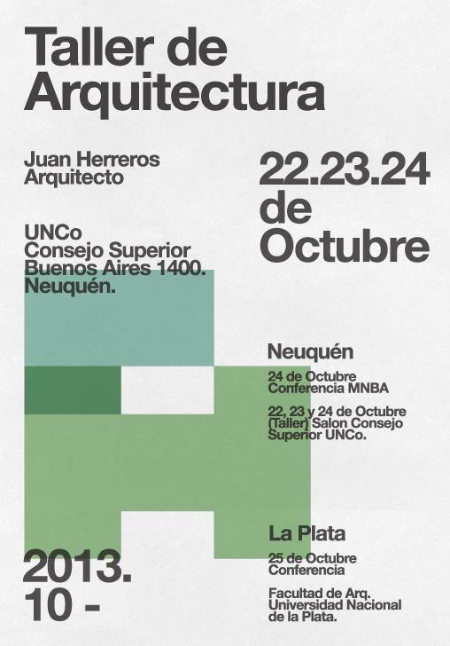 Taller de Proyectos y Conferencia arquitecto Juan Herreros