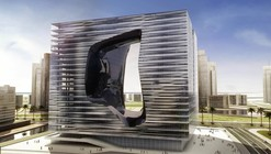 Zaha Hadid Designs New Office Building and Hotel for Dubai