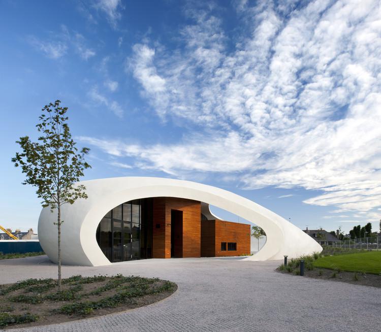 Centro para el cuidado del Cáncer / Snøhetta, © Philip Vile