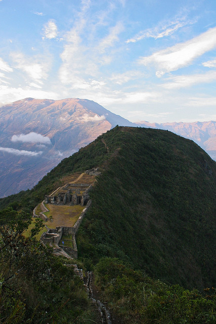 Choquequirao. Via Flickr CC User. Used under <a href='https://creativecommons.org/licenses/by-sa/2.0/'>Creative Commons</a>