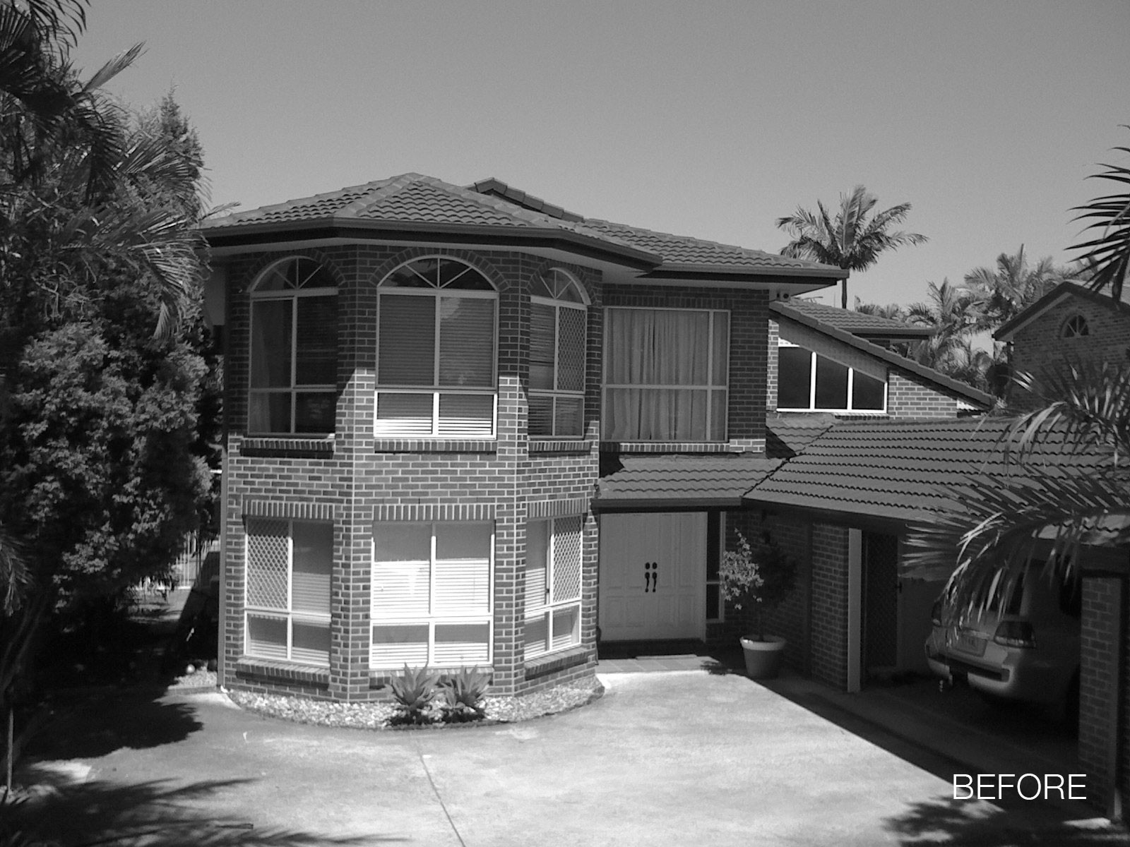 Original House. Image Courtesy of James Russell Architect