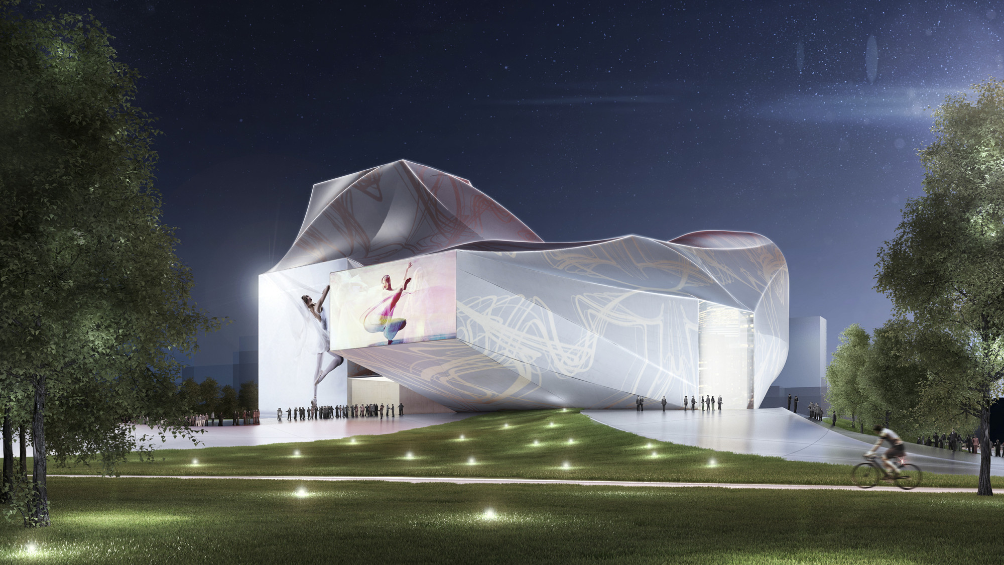 Gallery of sejong center for performing arts asymptote for Architecture art