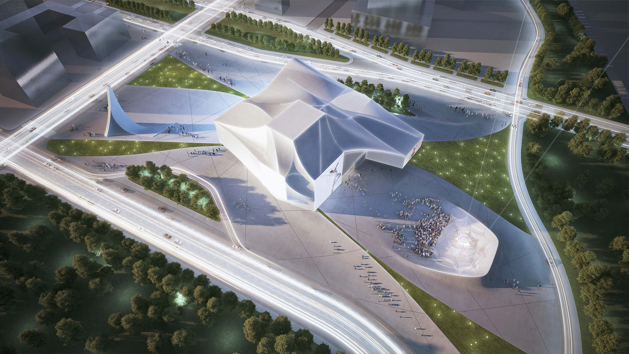 Gallery of sejong center for performing arts asymptote for National centre for the performing arts architecture