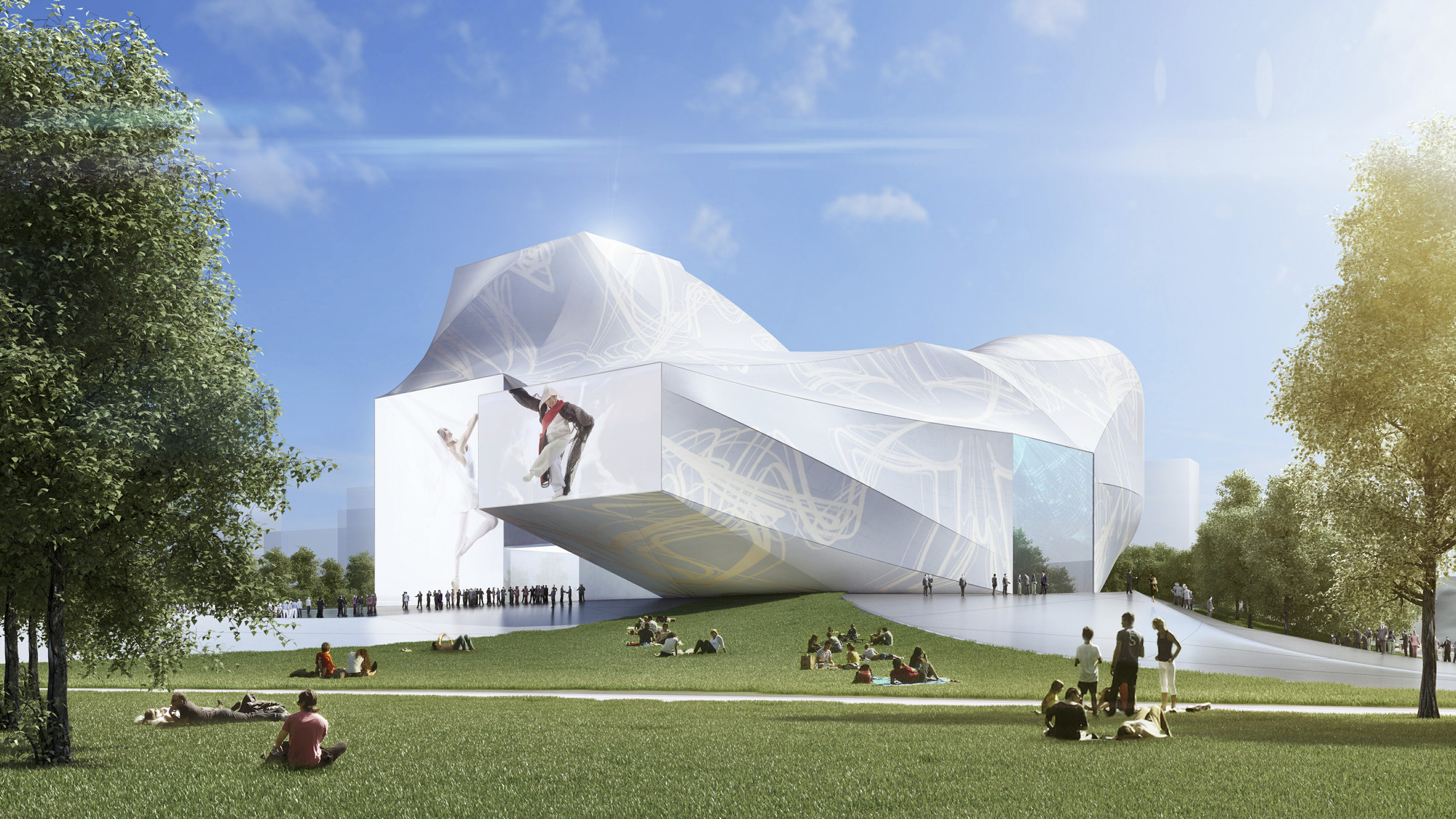 Gallery Of Sejong Center For Performing Arts Asymptote Architecture 4