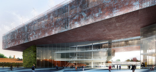 Courtesy of MenoMenoPiu Architects & Paolo Venturella