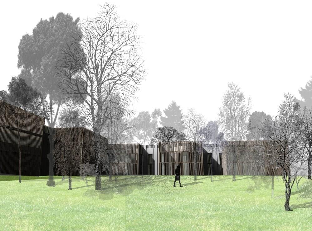 Charla: Restauración, Ampliación y Habilitación de la Embajada de Brasil en Chile / por ATIKA, Courtesy of Cortesía de Ipiña+Nieto Arquitectos + Ossa Arquitectura y Asociados
