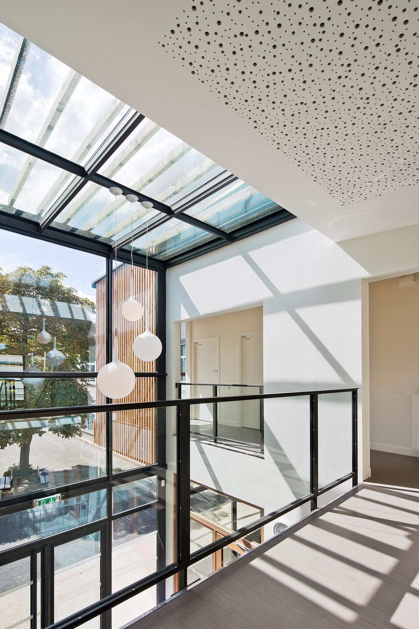 Gallery Of Ablon Sur Seine Reception And Leisure Centre