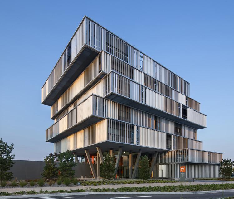 Oficinas Aquitanis / Platform Architectures, © Luc Boegly