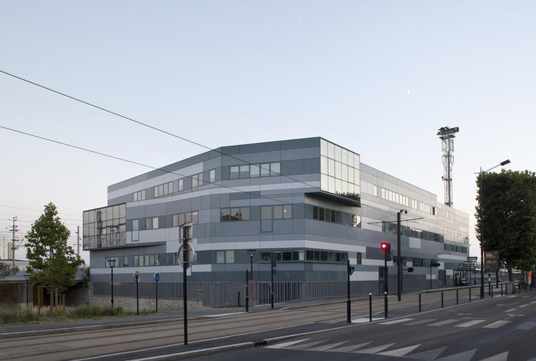 Hôtelières du Rail Oficinas y Residencias / Platform Architectures, © J. Ricolleau
