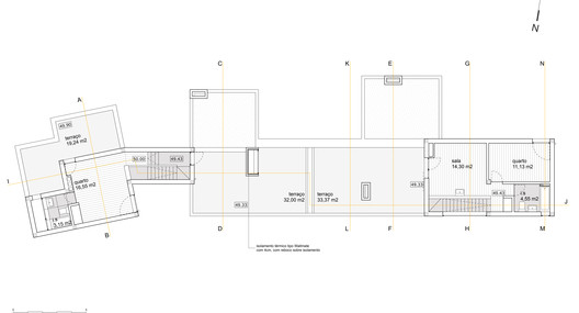 First Floor Plan (House 1-2)
