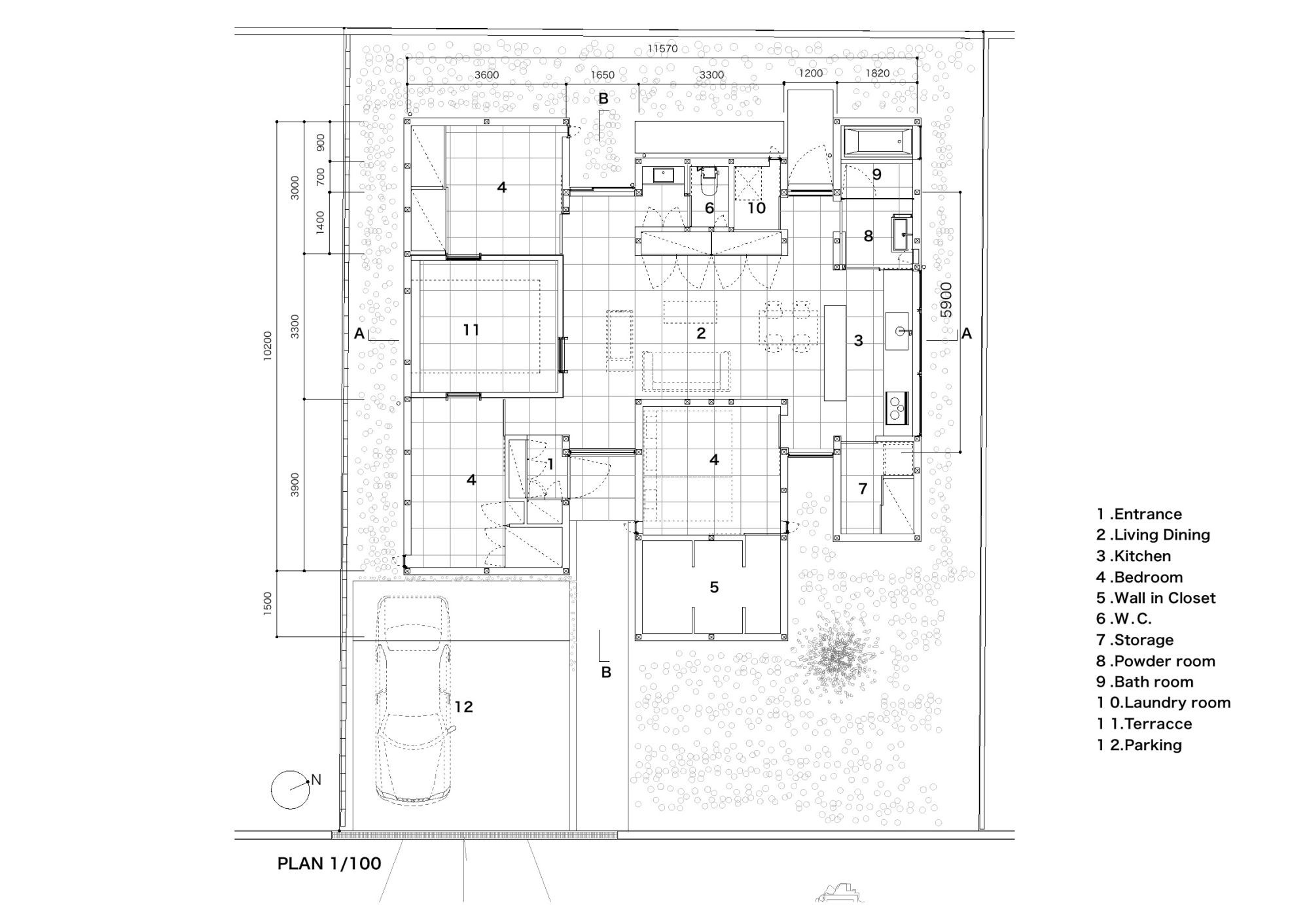 Gallery Of N House D I G Architects 17