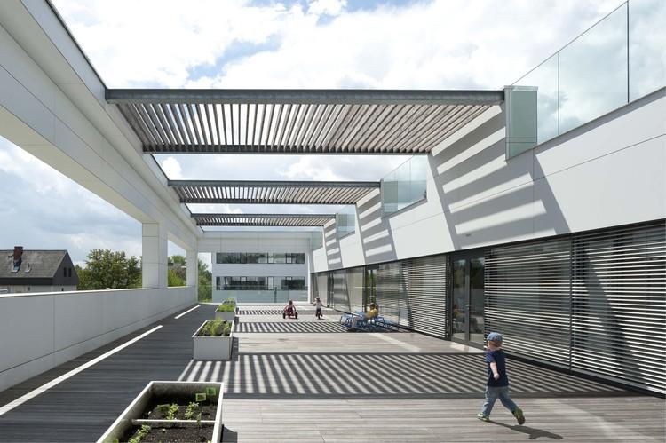 Centro de la Universidad de Graz para Producción + Cuidado Diurno / Hans Mesnaritsch, ©  Angelo Kaunat