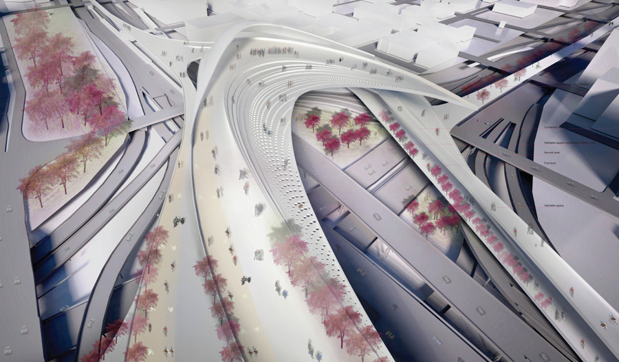 Chicago Bike Highway Interchange. Ratima Suwanrumpha. University of Michigan | Taubman College