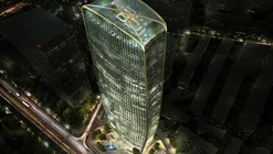 HENN Wins Competition to Build Cenke Tower in Taiyuan