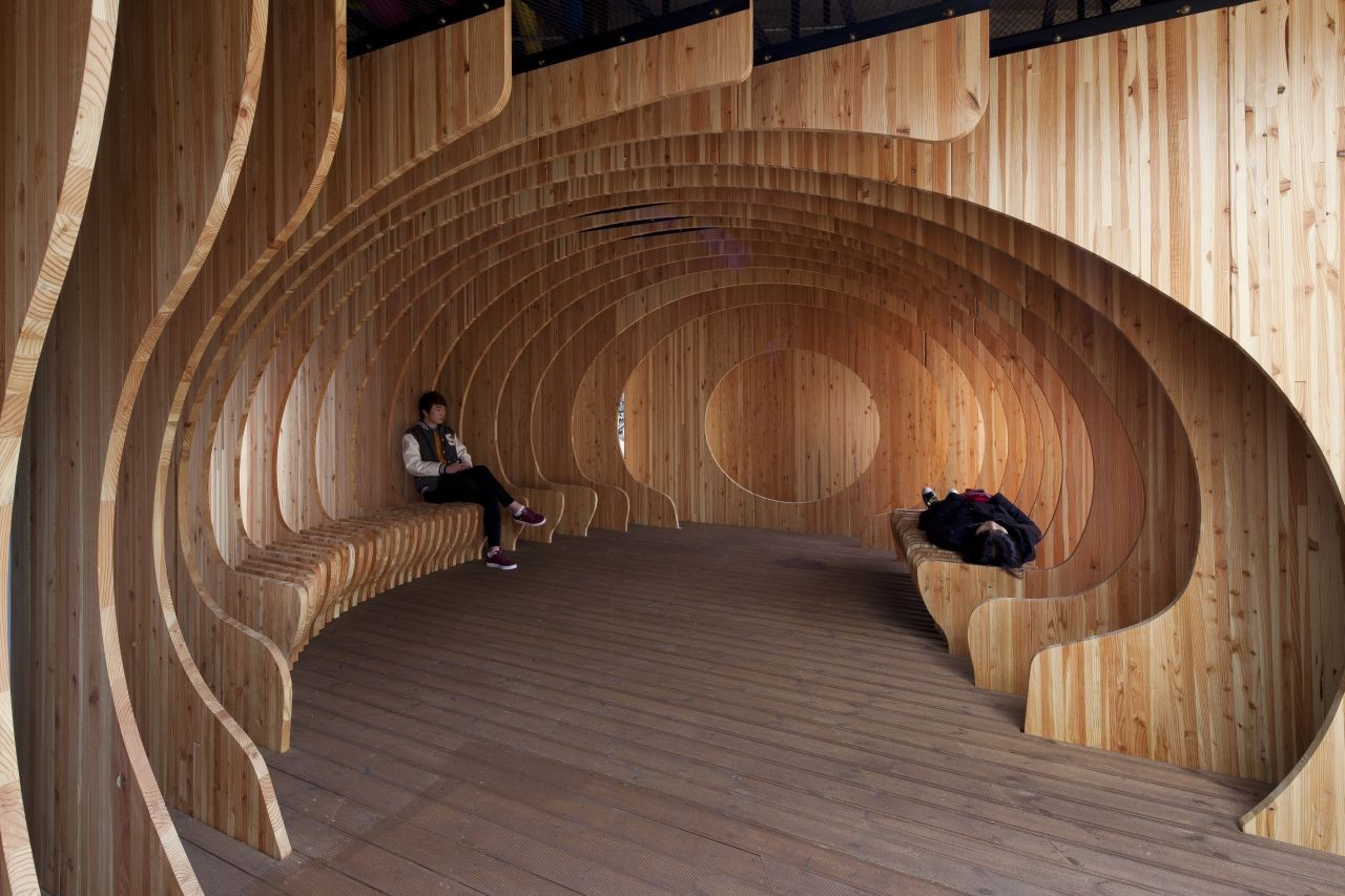 Rest hole in the University of Seoul / UTAA | ArchDaily