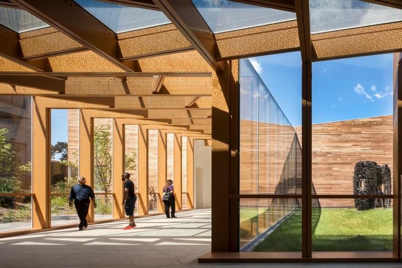 Weeksville / Caples Jefferson Architects PC, © Nic Lehoux