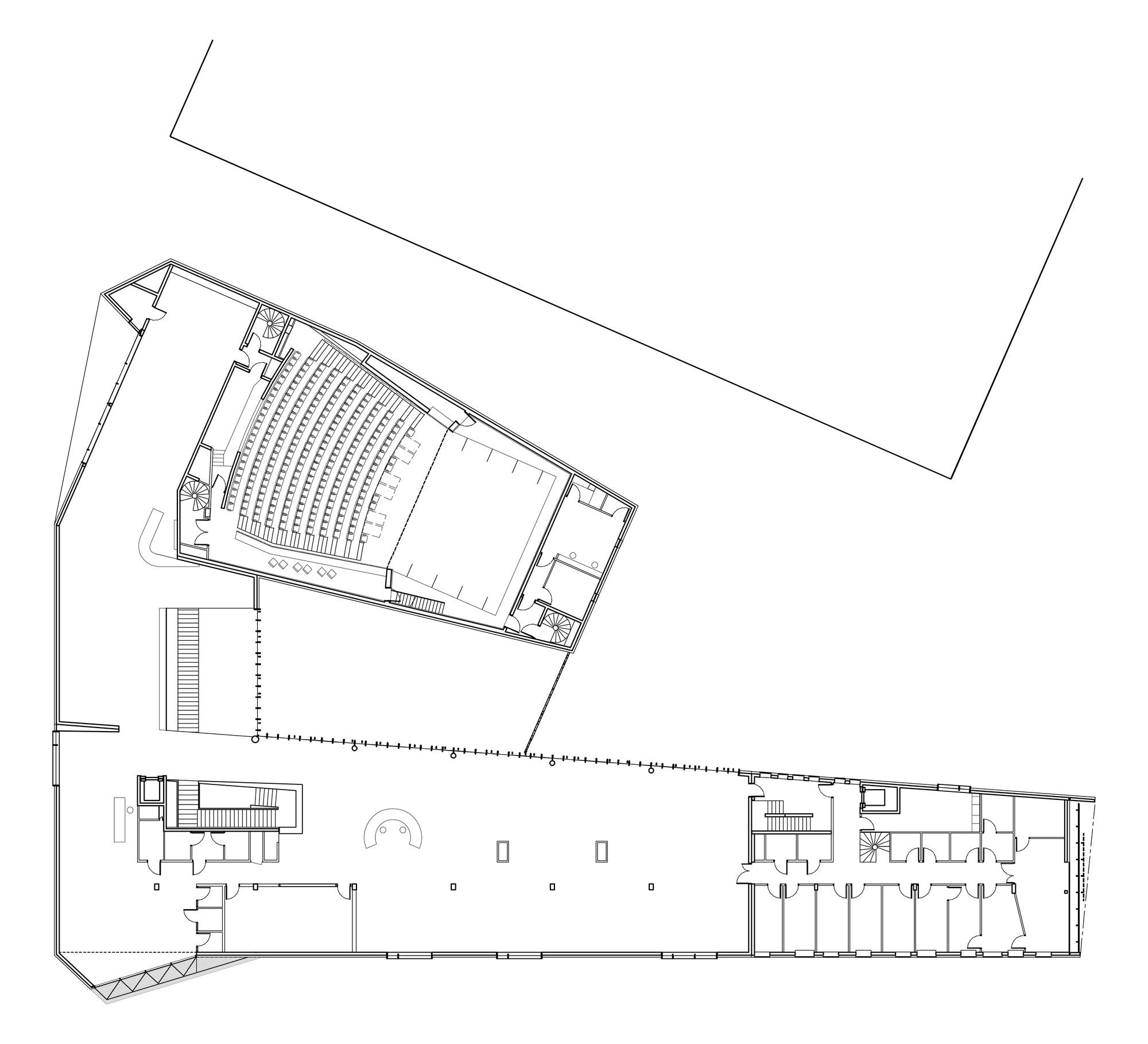 Chelles Multimedia Library Atelier Novembre Architecture