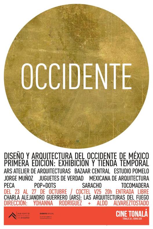 OCCIDENTE dentro del Abierto Mexicano de Diseño