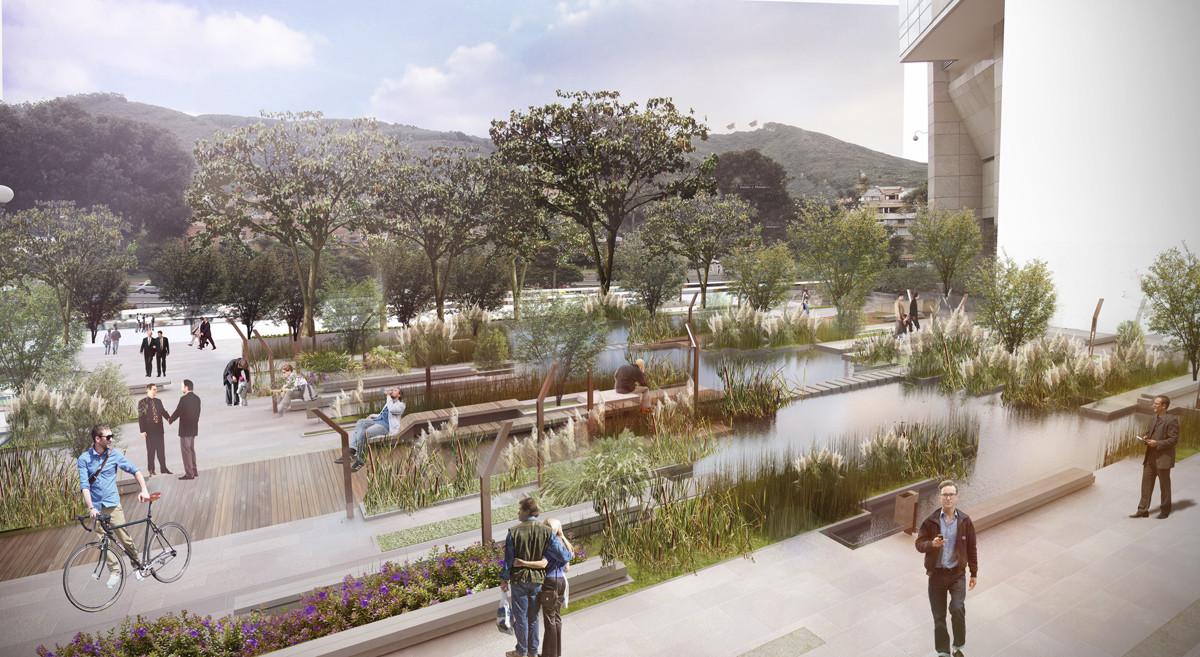 Primer Lugar Concurso de Anteproyecto para el Diseño de las Zonas Comunes CESB en Colombia , Courtesy of Obraestudio