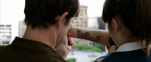 Screenshot from 500 Days of Summer. Image Courtesy of Fox Searchlight Pictures