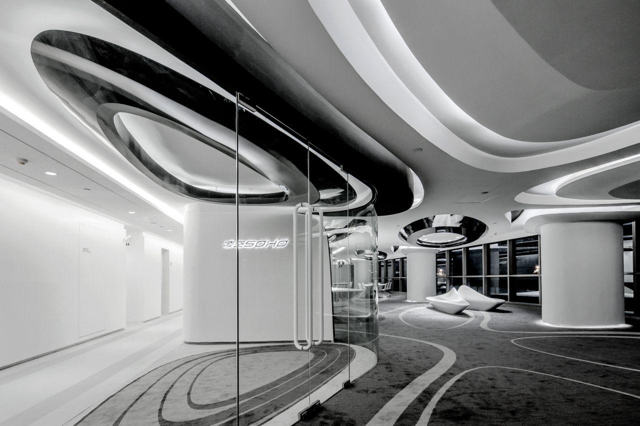 Sky SOHO Leasing Showroom / GAP Architects, © Raymond Lau & Jerry Yin