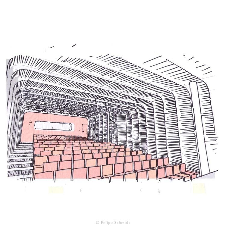 Croquis Auditorio