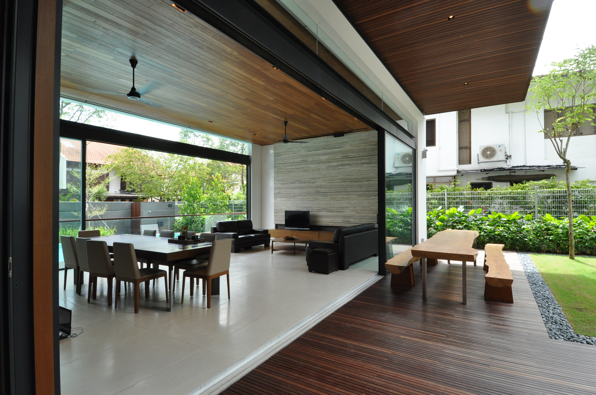 Sunset terrace house a collective archdaily for House terrace
