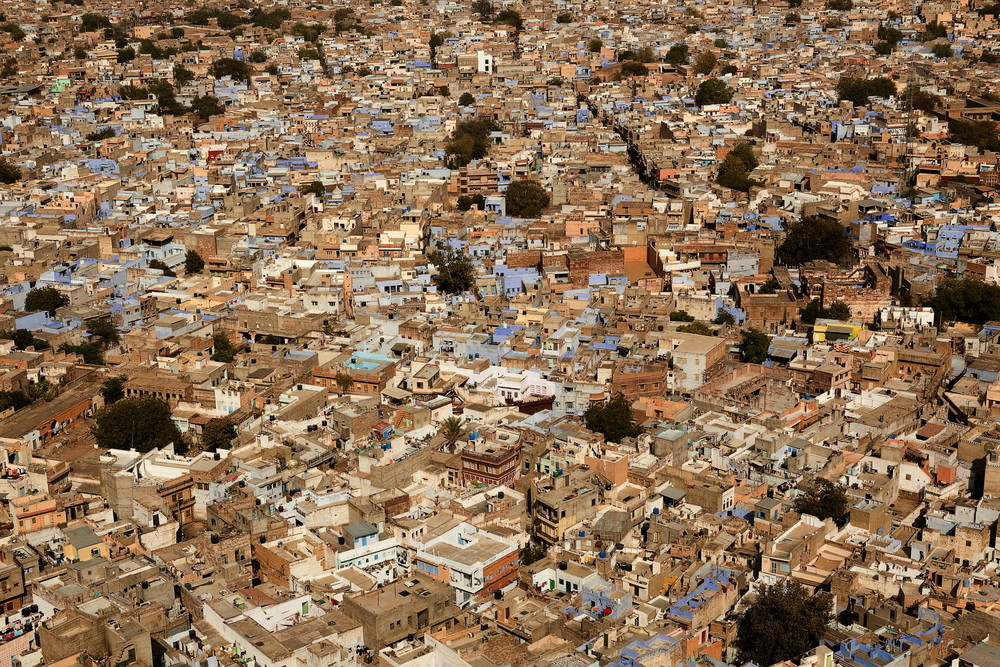 AD Architecture School Guide: Jamia Millia Islama, Ekistics is the science of human settlements. Students in the Ekistics Department of Jamia Millia Islamia study settlements across India, including cities like Jodhpur (pictured above). Image Courtesy of shutterstock.com